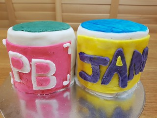 PB&J Cakes from The Borg Chicken
