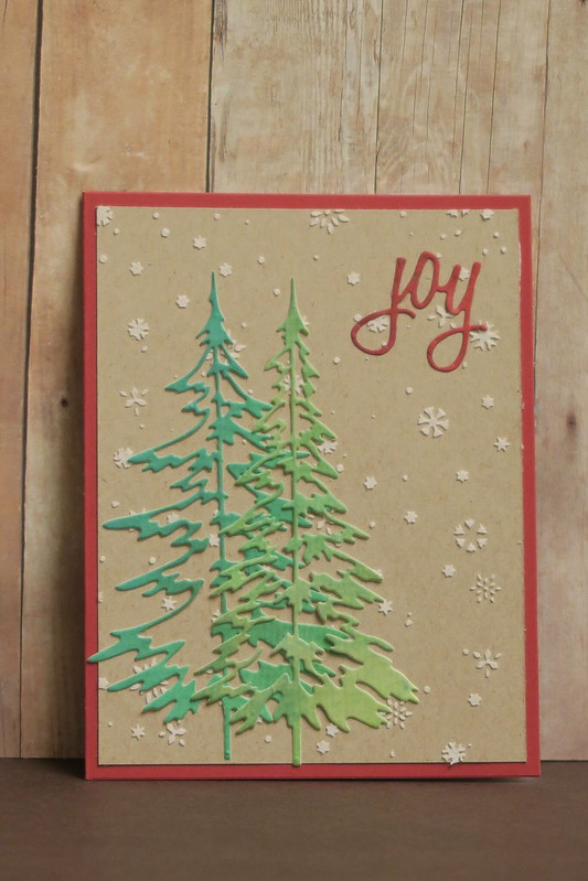 Tim Holtz Trees #2