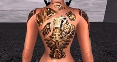 tattoo robot maitreya