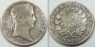 5 Franc 1812