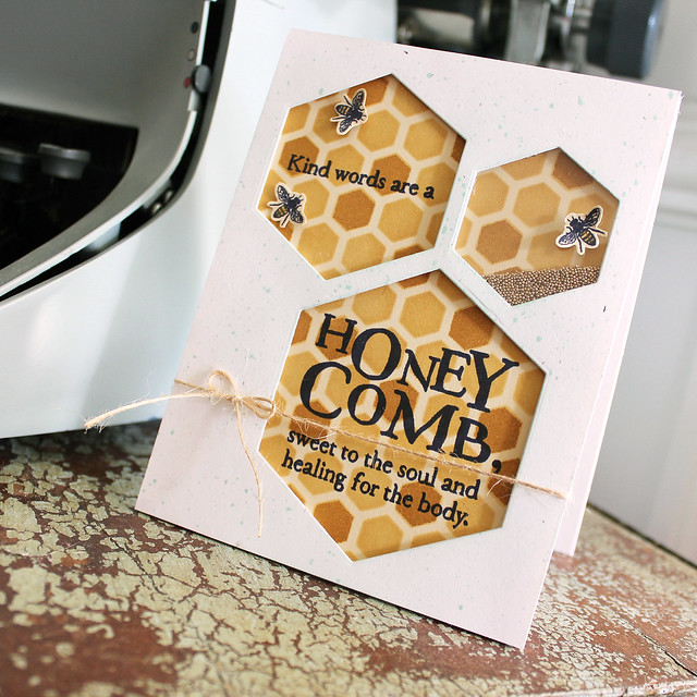 Honey Comb Card 2