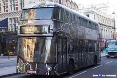 Wrightbus NRM NBFL - LTZ 1223 - LT223 - Coach - Victoria 38 - Arriva London - London 2016 - Steven Gray - IMG_4339