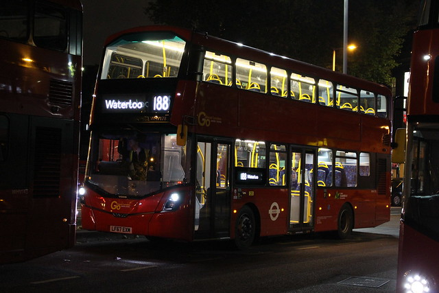 London Central WHV178 on Route 188, Waterloo