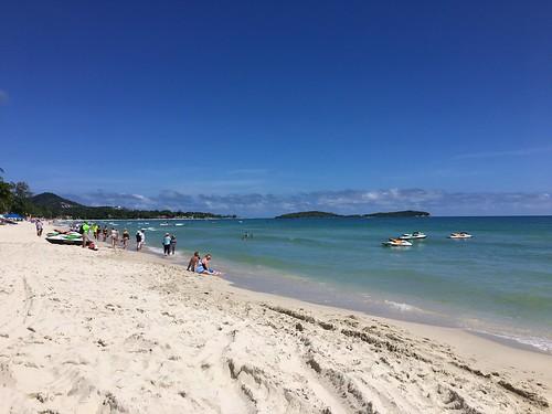 今日のサムイ島 11月15日 チャウエンビーチ