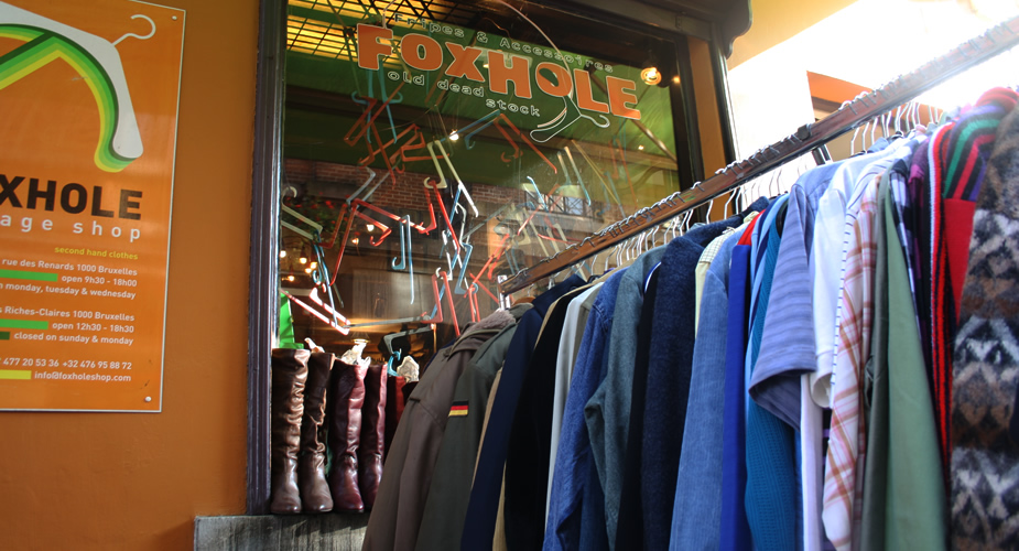 Shoppen in Brussel: Foxhole | Mooistestedentrips.nl