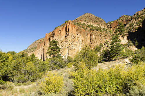 bandelier national monument new mexico west western us usa landscape outdoor southwest frijoles canyon