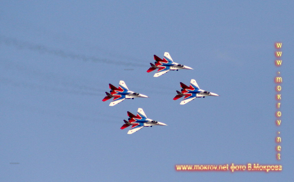 Четыре МиГ-29 фото