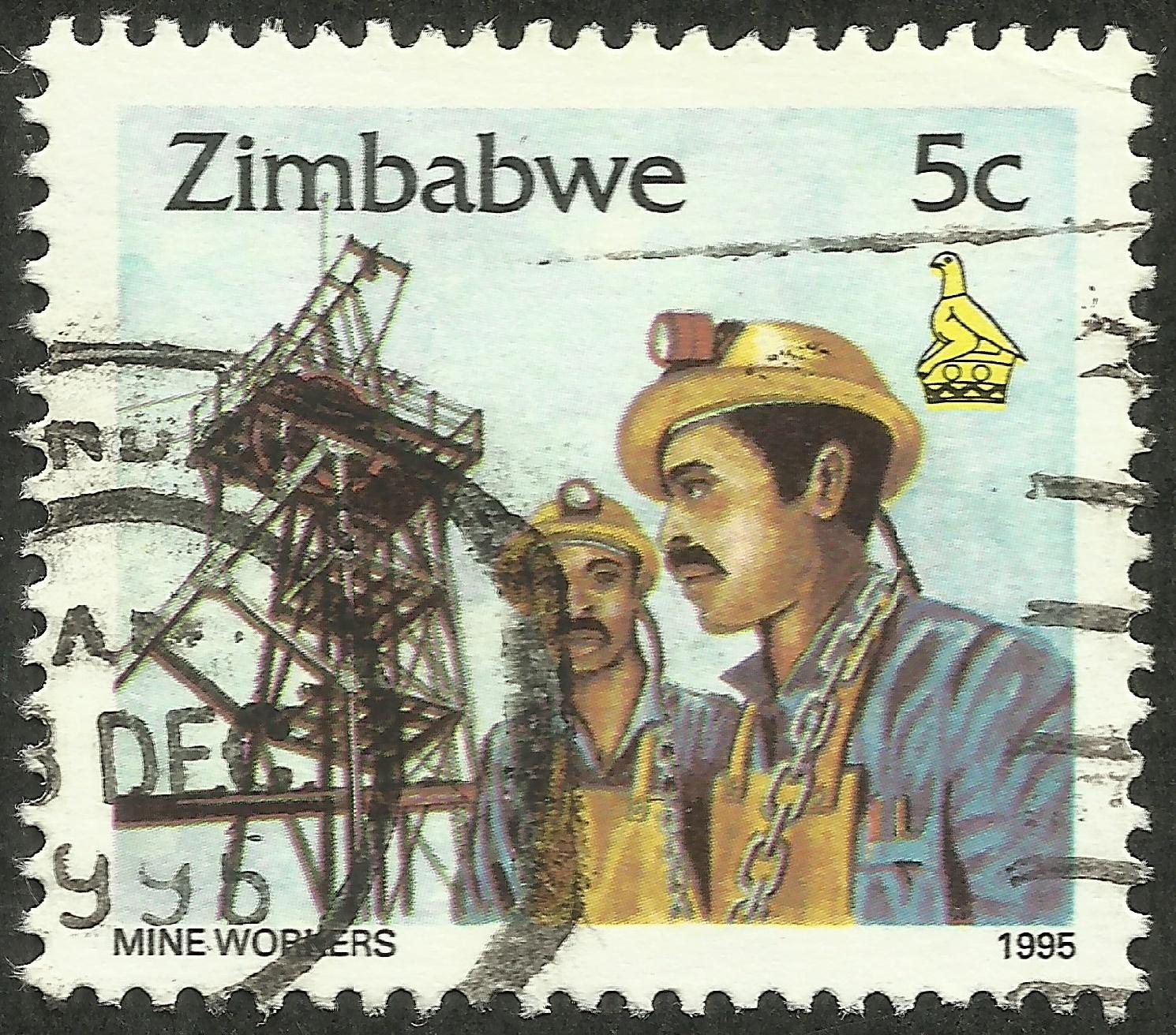 Zimbabwe - Scott #734 (1995)