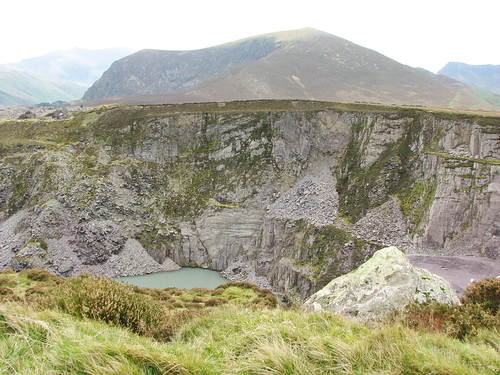 Old slate quarry