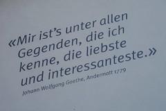 Goethe in Andermatt 1779