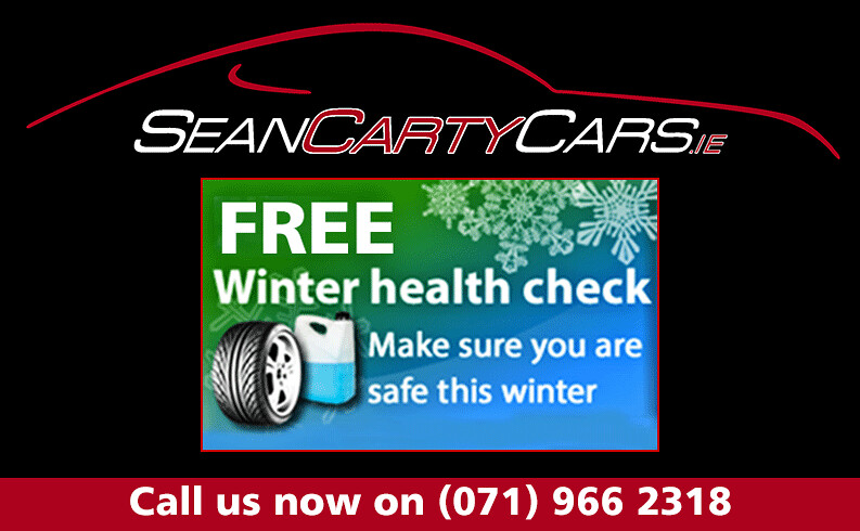 Sean Carty Cars- Free Winter Health Check