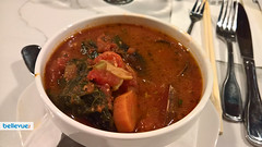 Red Seafood Soup at Taylor Shellfish Oyster Bar - Downtown Bellevue | Bellevue.com