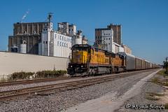 UP 9102 | GE C40-8 | UP Jonesboro Subdivision