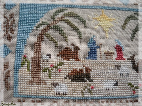 homespun elegance, cross stitch, christmas, holiest of nights (4)