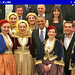 Greece, Athens, Obama & Tsipras with girls in traditional costumes of Macedonia, Thrace, Epirus, Thessaly & the Islands by Macedonia Travel & News