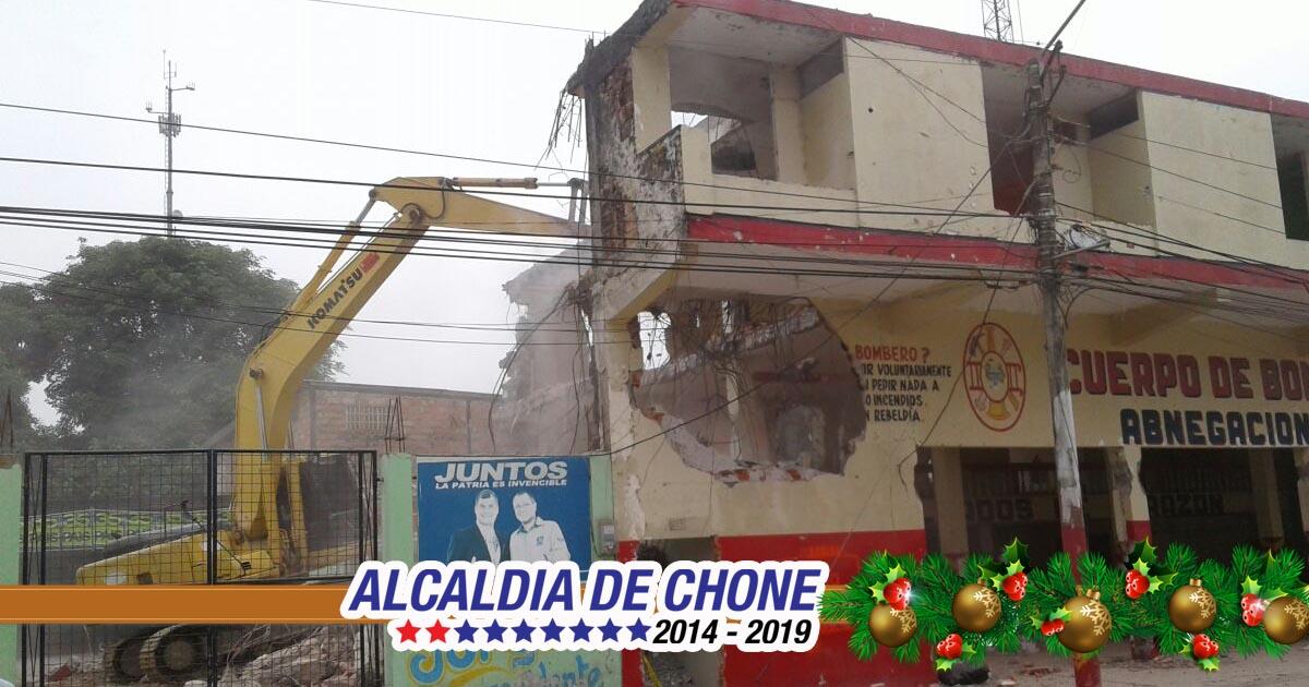 Bomberos operarán provisionalmente en la ex escuela Oréstedes Andrade en la ciudadela San Rafael