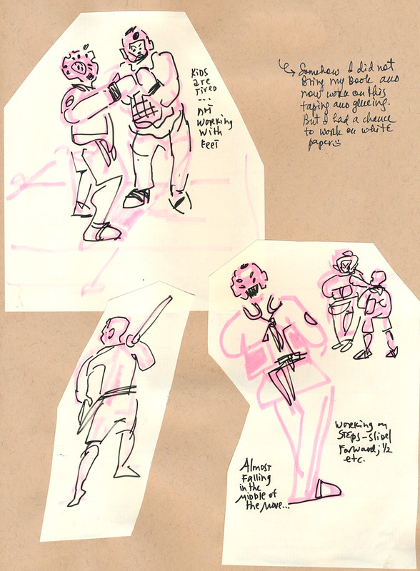 Sketchbook #109: Everyday Life - My Life Drawing Class