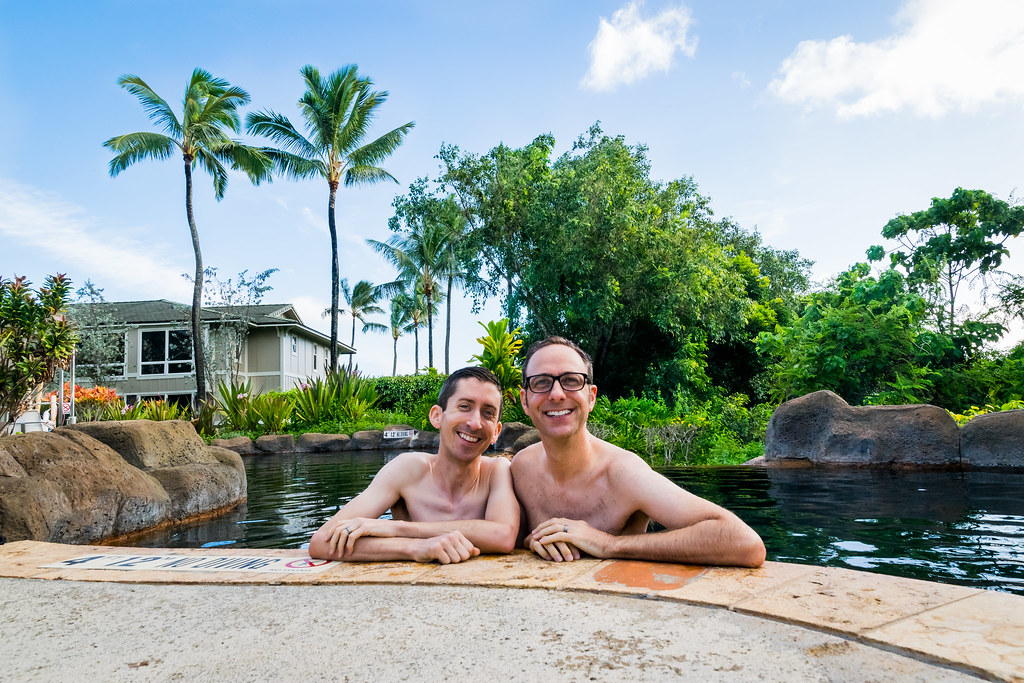 aloha from the husbands!