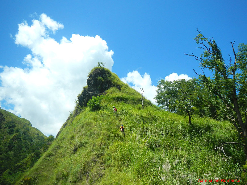 Cone-shaped hill