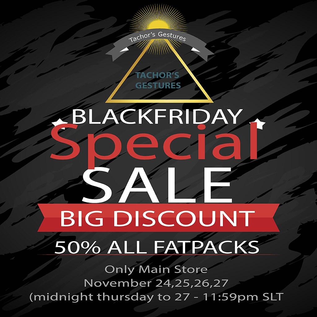 Tachor's Gestures - Black Friday - TeleportHub.com Live!