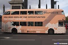 Wrightbus NRM NBFL - LTZ 1161 - LT161 - Bumble - Aldwych 9 - RATP Group London - London 2017 - Steven Gray - IMG_5265