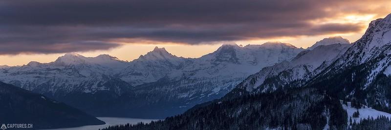 Sunrise over the Alps - Gurnigel