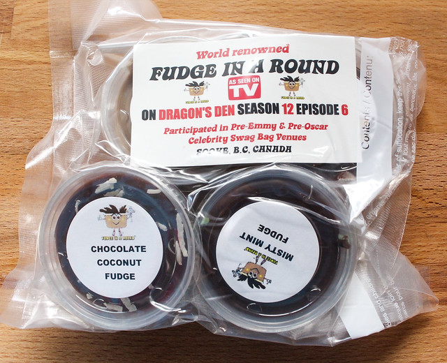 Fudge In A Round on Dragons' Den Product Review & Update