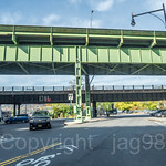 Henry Hudson Parkway Bridge (southbound) and Amtrak Railroad Bridge over Dyckman Street, Inwood, New York City