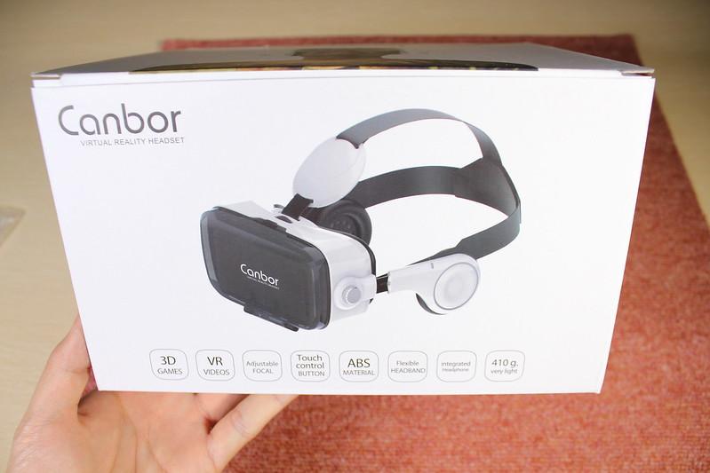 Canbor VR ゴーグル 開封レビュー (2)