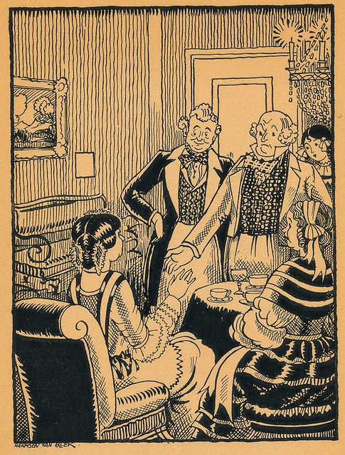 zonneschijn-kerstboek 1929 Ill  Harmsen van Beek   pg  108