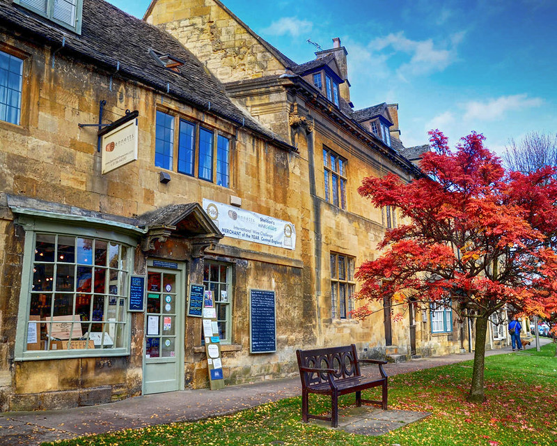 A wine merchant in Chipping Campden, Gloucestershire. Credit Baz Richardson, flickr