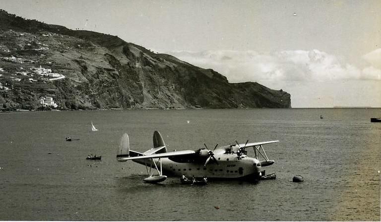 Martin Mariner CS-THA «Madeira», Funchal, c. 1958 (In Richard Alden Hoffmann, «The Fighting Flying Boat: A History of the Martin PBM Mariner», U.S. Naval Institute Press, 2004)