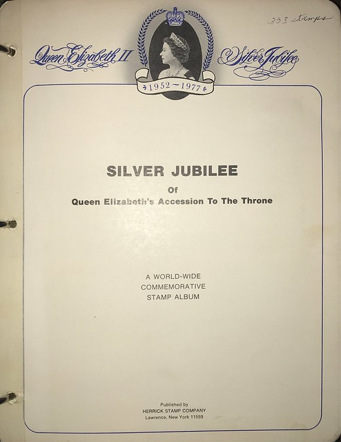 The Queen's Silver Jubilee by StampPhenom.com