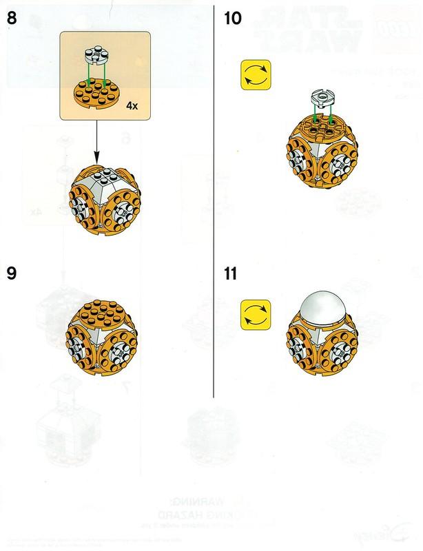 Instrukcja budowy Lego BB-8 z Toys R Us 2