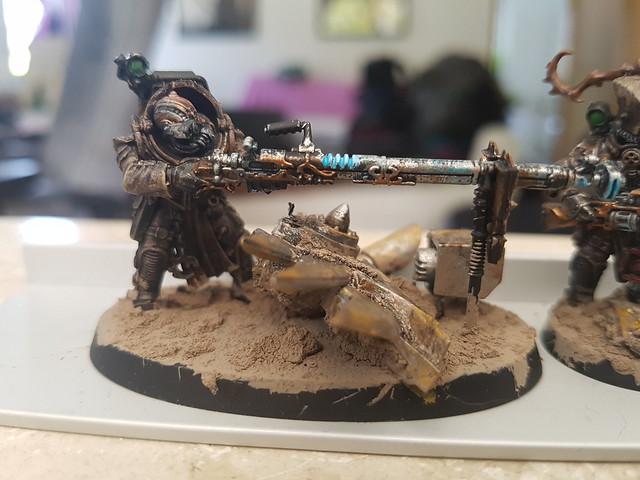 Wh40k - Skitarii (Rat-Cult)