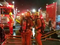 Fire Sweeps Through Van Nuys Church