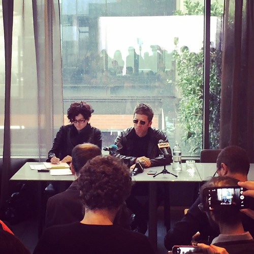 Noel Gallagher - press conference