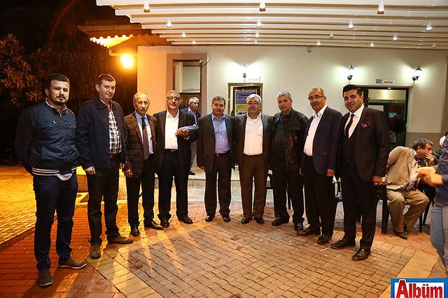 MHP Millet Vekili İhsan Barutçu ve MHP İlçe Yönetimi