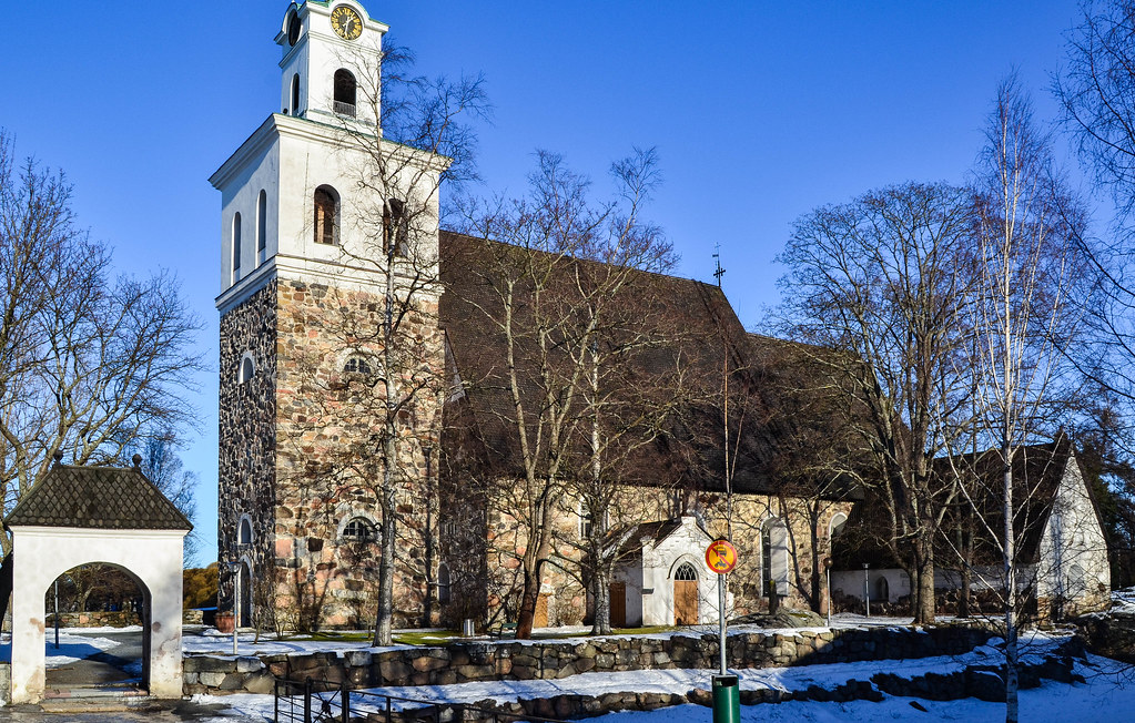 Things to see in Old Rauma: The Church of the Holy Cross