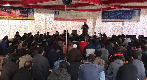 "One-day seminar on ""Role of Youth in Kashmir Issue"" was organized by a civil society in Srinagar. 13 Nov 17"