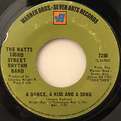 THE WATTS 103RD STREET RHYTHM BAND:DO YOUR THING(LABEL SIDE-B)