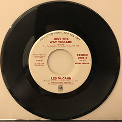 LES MCCAN:JUST THE WAY YOU ARE(RECORD SIDE-A)