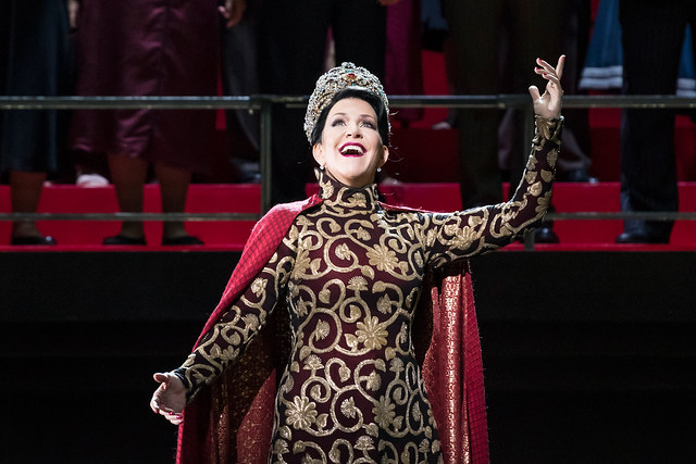 Joyce DiDonato in The Royal Opera's Semiramide © 2017, ROH. Photograph by Bill Cooper.
