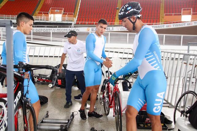 Entrenamiento ciclismo pista, Juegos Bolivarianos