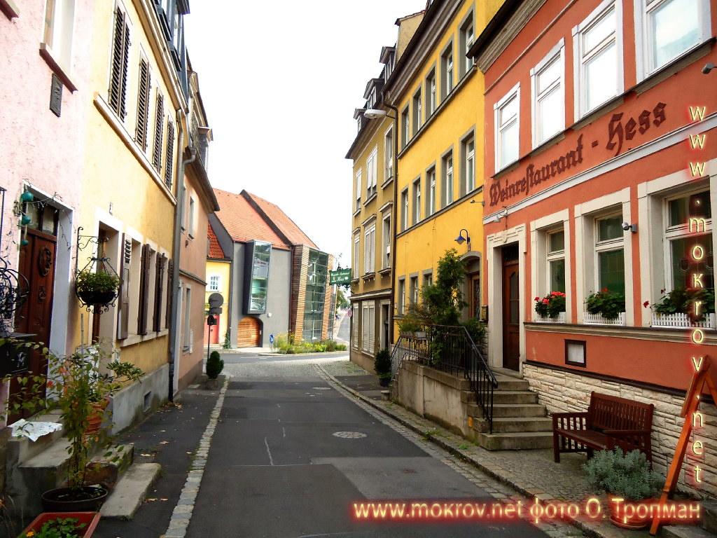 Исторический центр Швайнфурта фотозарисовки