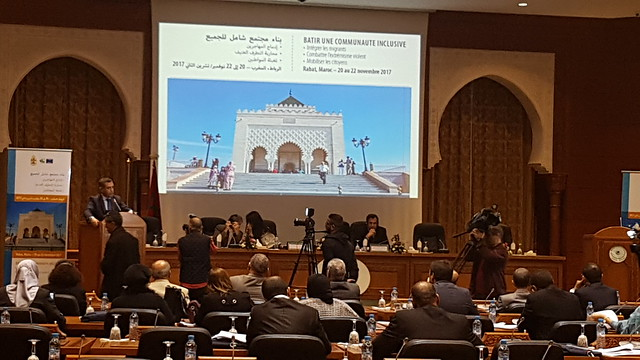 Rabat international Conference - 20 to 22 November 2017