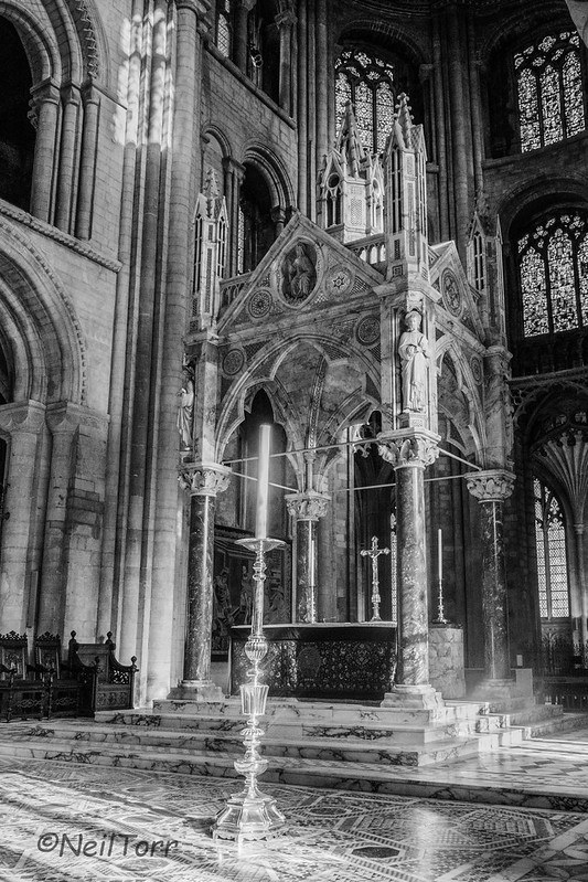 Peterborough Cathdral Altar