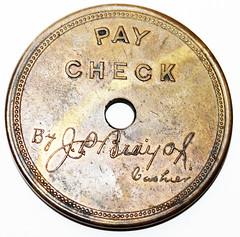 Union Mining Co Pay Check-rev