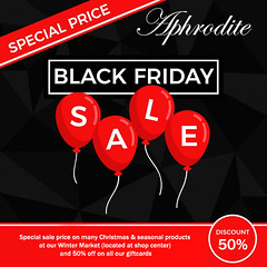 Aphrodite black Friday!
