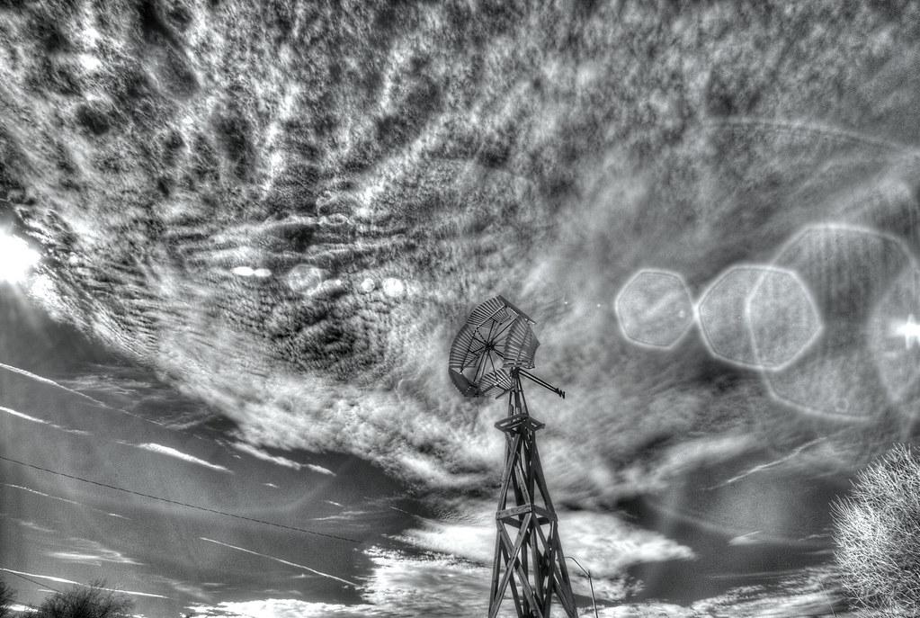windmill in IR
